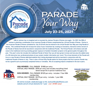Parade of Homes 2021